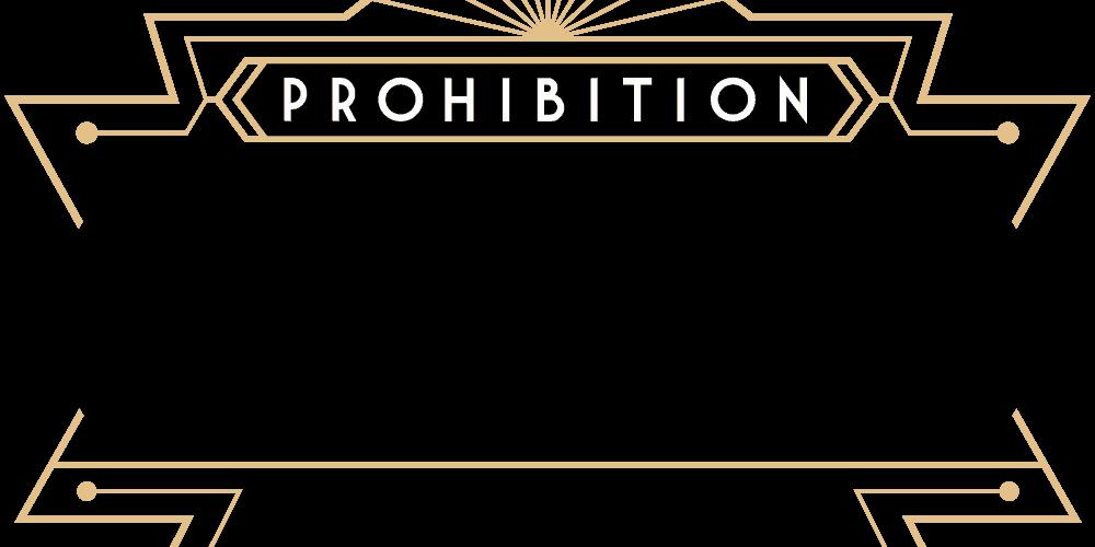 Prohibition Logo Black